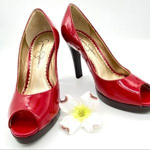 NWOT Jessica Simpson Karrina Platform Heels, 5.5